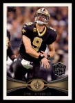 2012 Topps #111  Drew Brees POY  Front Thumbnail
