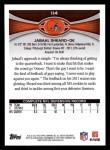 2012 Topps #114  Jabaal Sheard  Back Thumbnail
