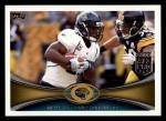 2012 Topps #120  Maurice Jones-Drew  Front Thumbnail