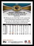 2012 Topps #120  Maurice Jones-Drew  Back Thumbnail