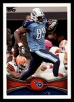 2012 Topps #122  Jared Cook  Front Thumbnail