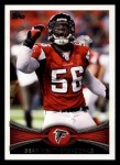 2012 Topps #124  Sean Weatherspoon  Front Thumbnail