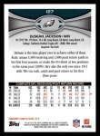 2012 Topps #127  DeSean Jackson  Back Thumbnail