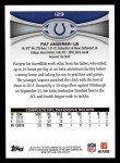 2012 Topps #129  Pat Angerer  Back Thumbnail