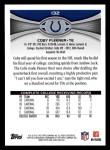 2012 Topps #132  Coby Fleener  Back Thumbnail