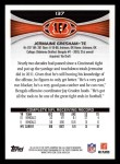 2012 Topps #137  Jermaine Gresham  Back Thumbnail