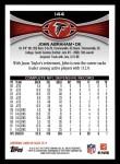 2012 Topps #144  John Abraham  Back Thumbnail