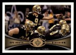 2012 Topps #145   -  Drew Brees New Orleans Saints Front Thumbnail