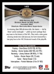 2012 Topps #145   -  Drew Brees New Orleans Saints Back Thumbnail