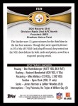 2012 Topps #159   -  Ben Roethlisberger / Max Starks Pittsburgh Steelers Back Thumbnail