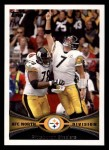 2012 Topps #159   -  Ben Roethlisberger / Max Starks Pittsburgh Steelers Front Thumbnail