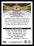 2012 Topps #163   -  Aaron Rodgers / James Starks Green Bay Packers Back Thumbnail