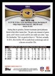 2012 Topps #180  Ray Rice  Back Thumbnail