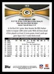 2012 Topps #183  Ryan Grant  Back Thumbnail