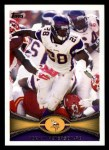 2012 Topps #200  Adrian Peterson  Front Thumbnail
