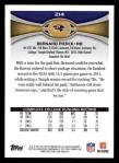 2012 Topps #214  Bernard Pierce  Back Thumbnail