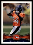 2012 Topps #283  Ronnie Hillman  Front Thumbnail
