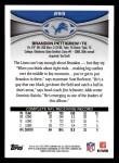 2012 Topps #293  Brandon Pettigrew  Back Thumbnail