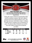 2012 Topps #301  Mike Williams  Back Thumbnail