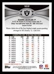 2012 Topps #302  Shane Lechler  Back Thumbnail