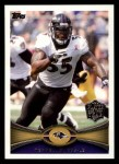 2012 Topps #313  Terrell Suggs  Front Thumbnail
