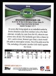 2012 Topps #316  Brandon Browner  Back Thumbnail