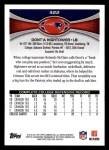 2012 Topps #322  Dont'a Hightower  Back Thumbnail