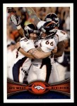 2012 Topps #324   -  Matt Prater / Lonie Paxton Denver Broncos Front Thumbnail