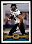 2012 Topps #333  Laurent Robinson  Front Thumbnail