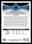 2012 Topps #384  Brandon LaFell  Back Thumbnail