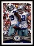 2012 Topps #403   -  Dez Bryant / Jason Witten Dallas Cowboys Front Thumbnail