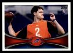2012 Topps #413  Aaron Corp  Front Thumbnail