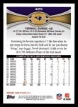 2012 Topps #425  Terrell Suggs  Back Thumbnail