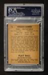 1941 Play Ball #72  Lefty Gomez  Back Thumbnail