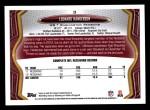 2013 Topps #3  Leonard Hankerson  Back Thumbnail