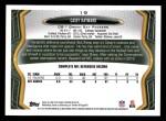 2013 Topps #19  Casey Hayward  Back Thumbnail