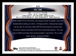2013 Topps #65  Kyle Long   Back Thumbnail