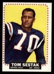1964 Topps #37  Tom Sestak  Front Thumbnail