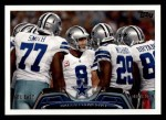 2013 Topps #98   Dallas Cowboys Team Front Thumbnail