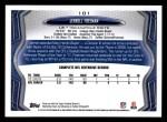 2013 Topps #101  Jerrell Freeman  Back Thumbnail