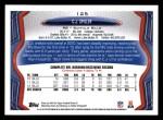2013 Topps #125  C.J. Spiller  Back Thumbnail