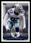 2013 Topps #127  Anthony Spencer  Front Thumbnail