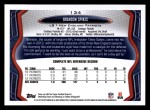 2013 Topps #134  Brandon Spikes  Back Thumbnail