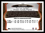 2013 Topps #160  Trent Richardson  Back Thumbnail