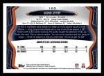 2013 Topps #165  Alshon Jeffery  Back Thumbnail