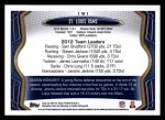 2013 Topps #191   St. Louis Rams Team Back Thumbnail