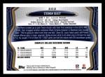 2013 Topps #202  Stedman Bailey   Back Thumbnail