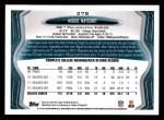2013 Topps #278  Miguel Maysonet   Back Thumbnail