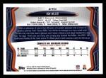 2013 Topps #290  Von Miller  Back Thumbnail