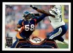 2013 Topps #290  Von Miller  Front Thumbnail